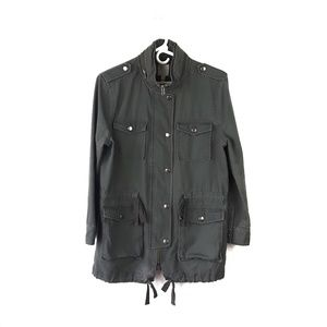 Anthro Leith Army Green Utility Jacket